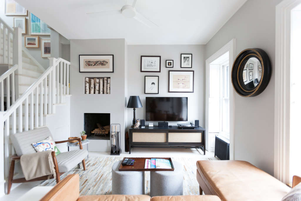 7 Secrets for a Less-Messy Living Room