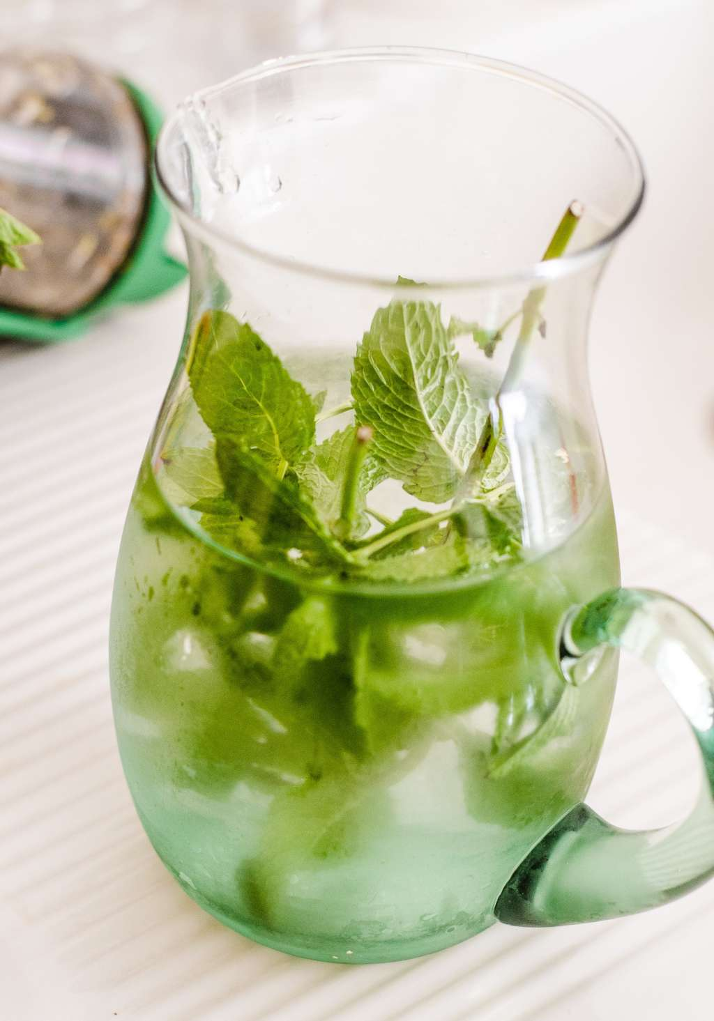 Mint Water Is the Most Refreshing Summer Drink