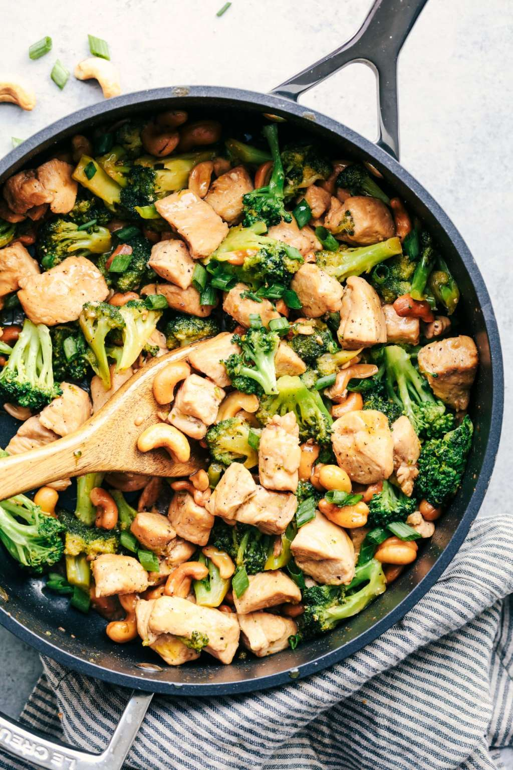 This Cashew Chicken And Broccoli Is Better Than Takeout -6281
