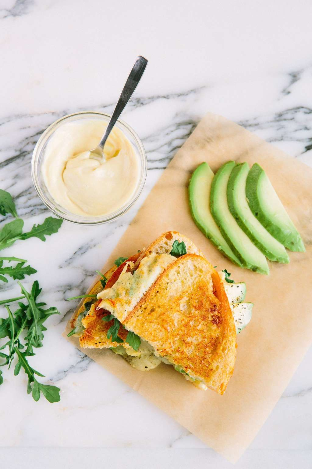Recipe: Muenster and Avocado Grilled Cheese