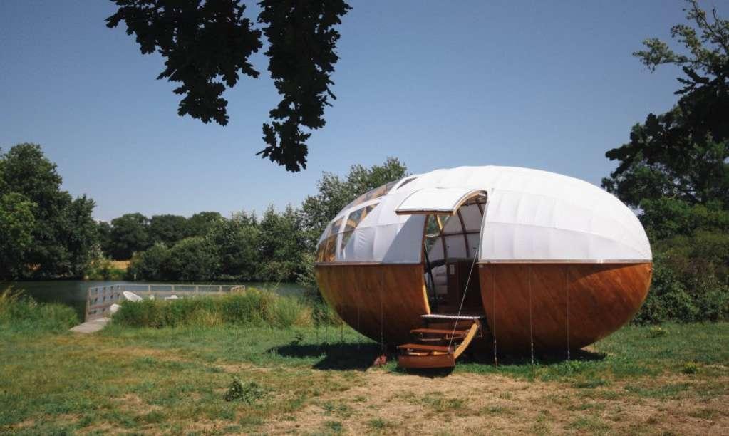 Peek Inside This Egg-cellent Tiny House in France