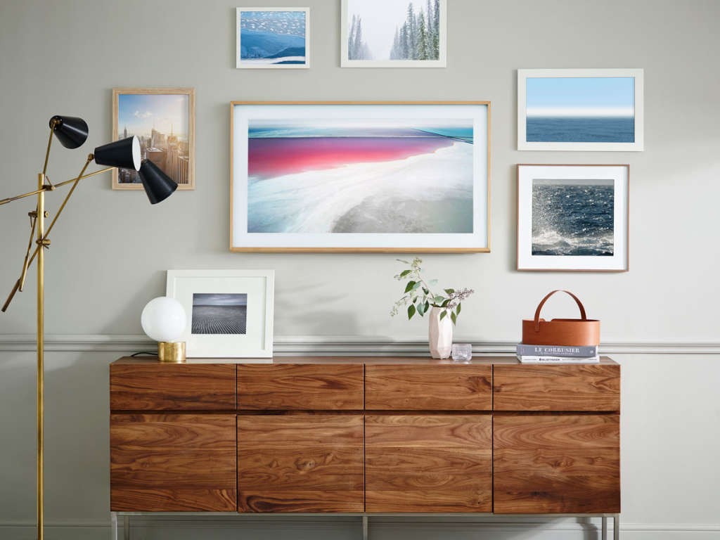 The Frame by Samsung: The World\'s Most Beautiful TV? | Apartment Therapy