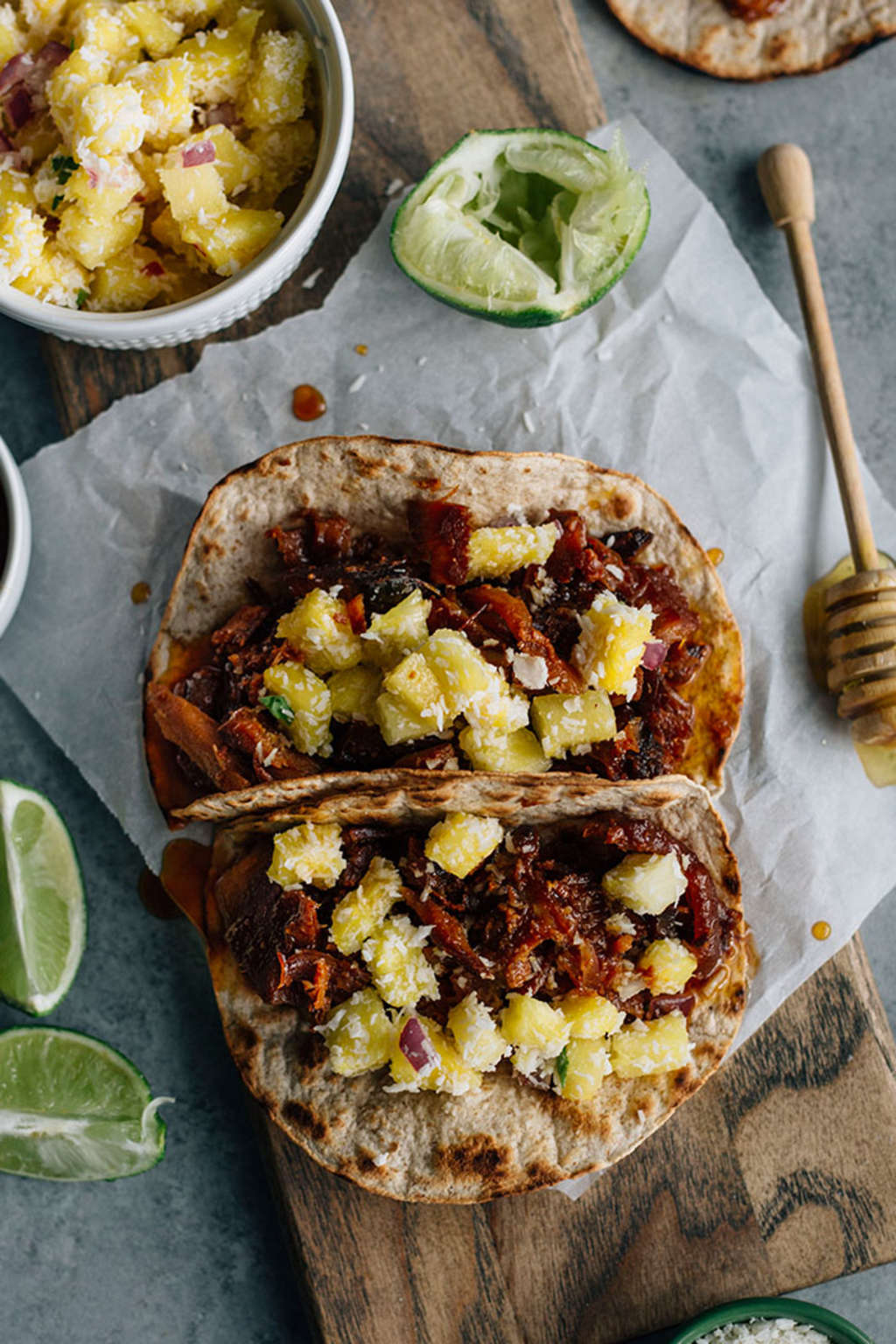 The Slow Cooker Is the Key to These Honey-Ginger Pork Tacos