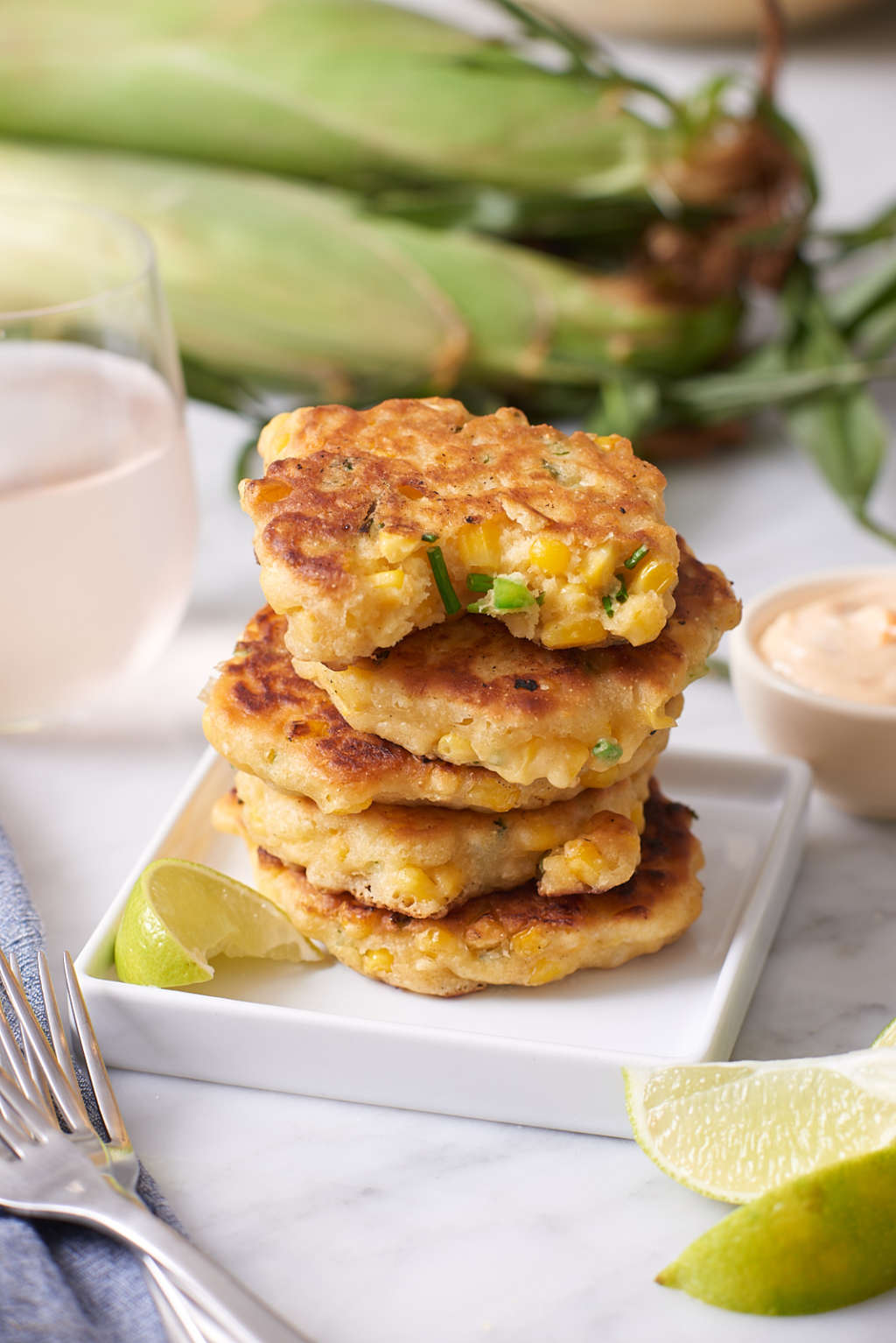 How To Make Easy Pan-Fried Corn Cakes