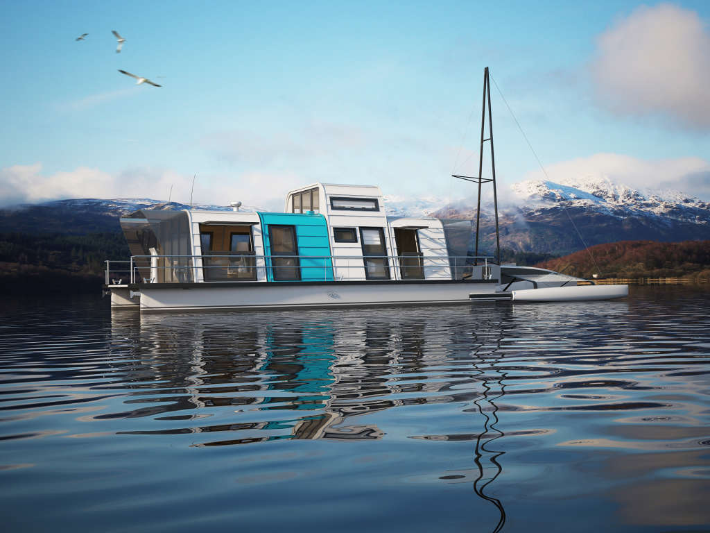Prefab Houseboats Exist & Can Be Assembled in 2 Days