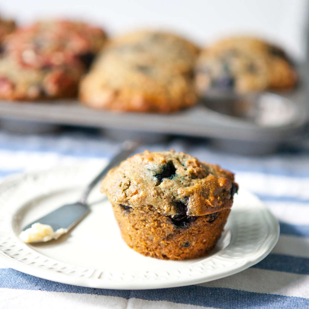 Breakfast Recipe: Blueberry Bran Muffins