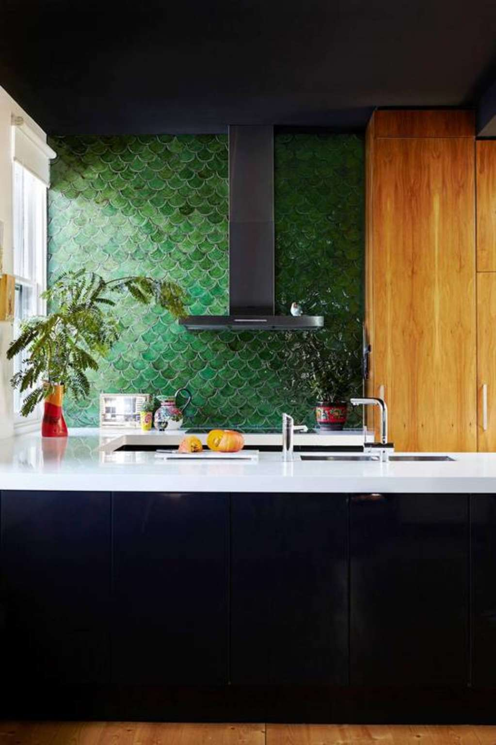 The Hottest Tile Trend Has Everything to Do With Mermaids