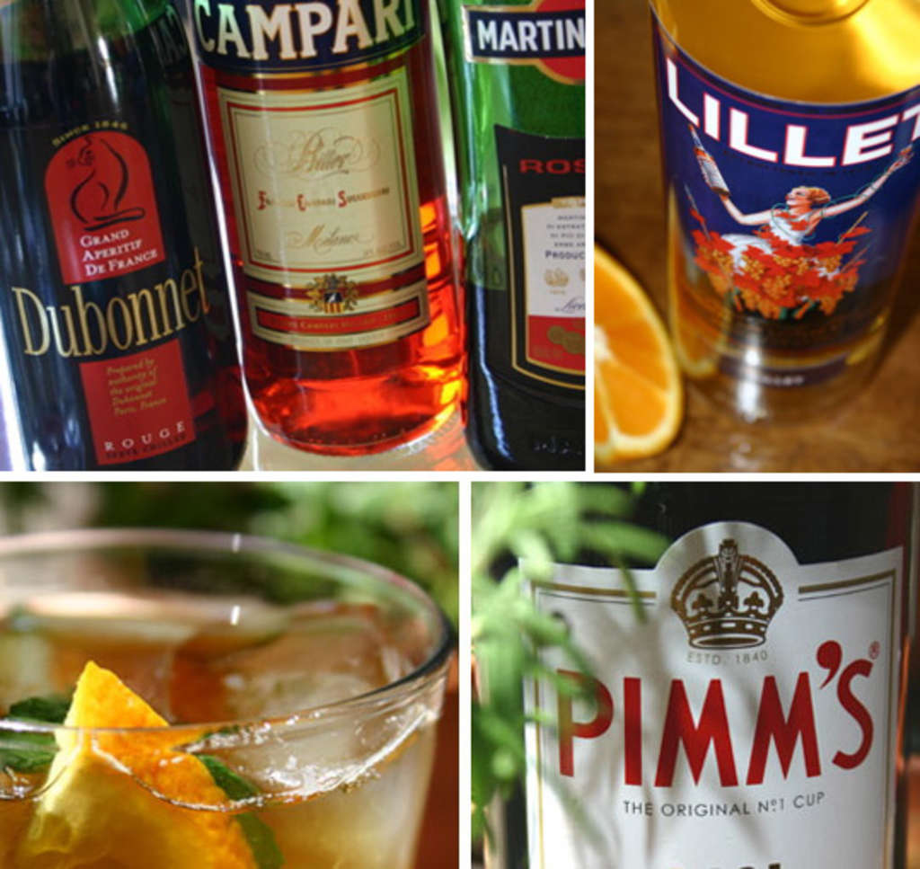 Aperitifs - what is this What kind of drinks can be served as an aperitif