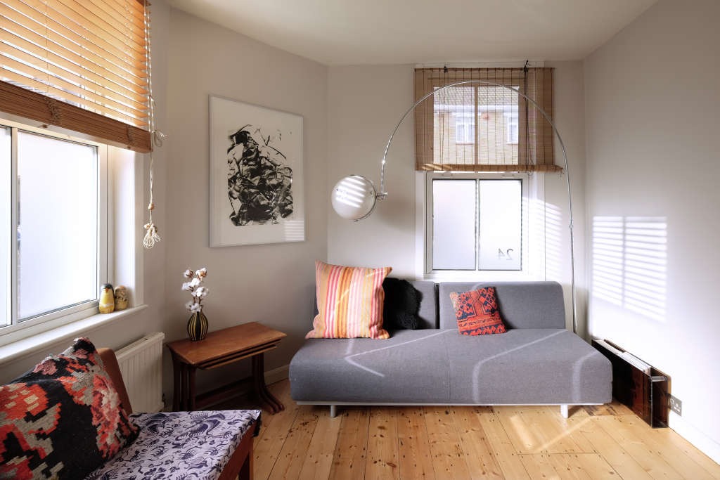 Tour a Small, Eclectic Edwardian Cottage in London