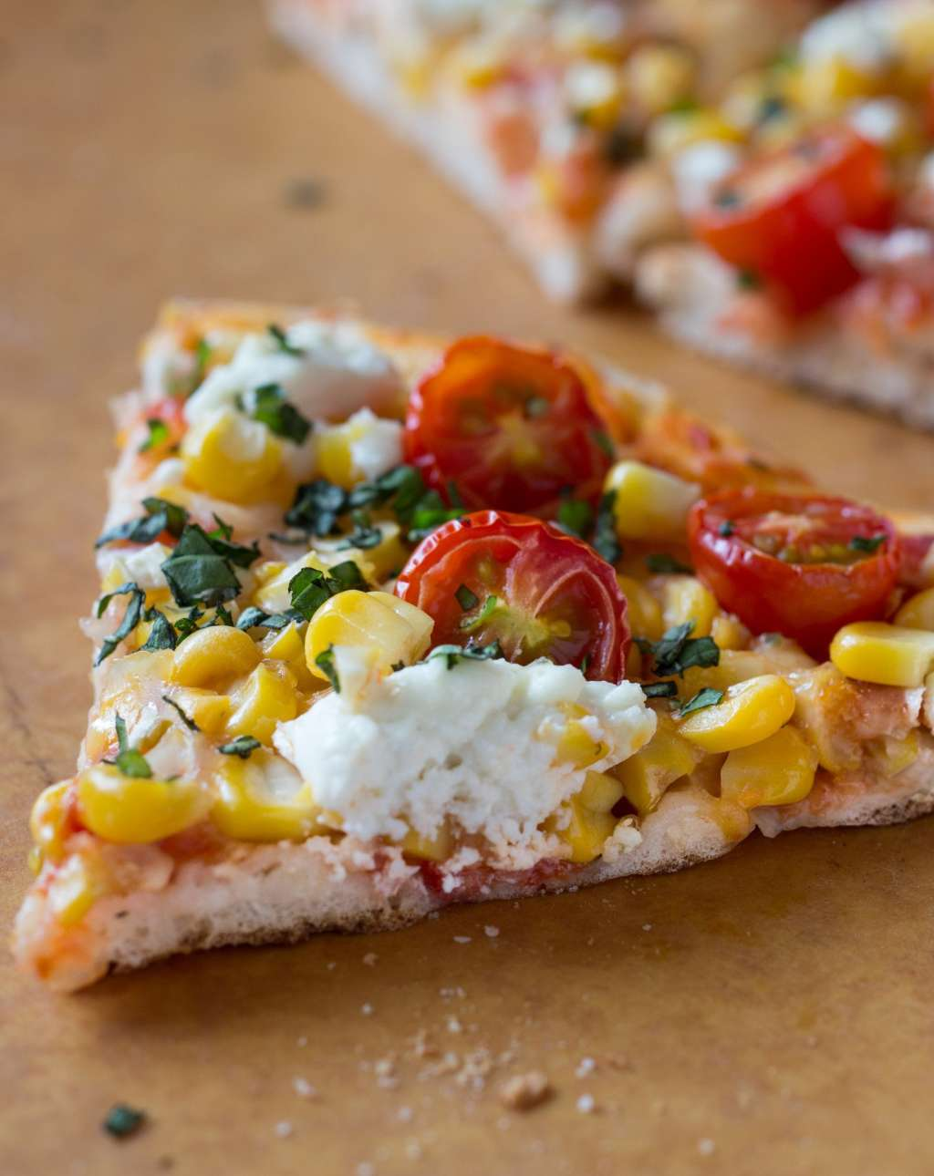 Summer Recipe: Grilled Cherry Tomato, Corn, and Goat Cheese Pizza