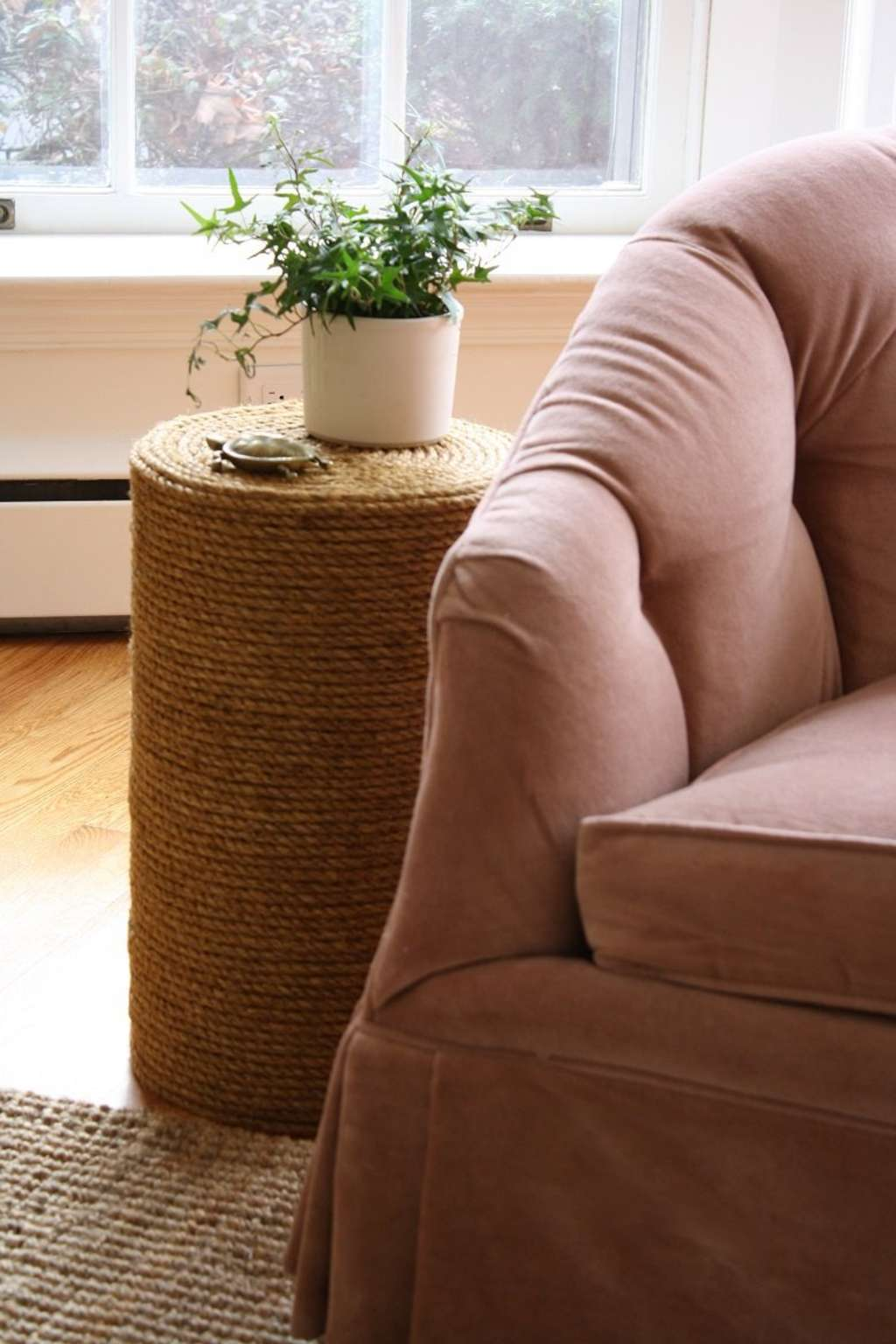 DIY Home Decor: How to Make a Rope Side Table from Scratch