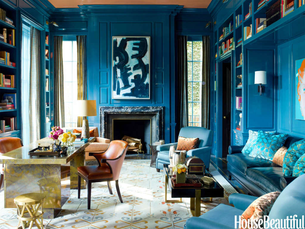 How to turn just one color into an entire room palette 447d7ac88d6c0af9d5d9883c9717c1ebf97858be