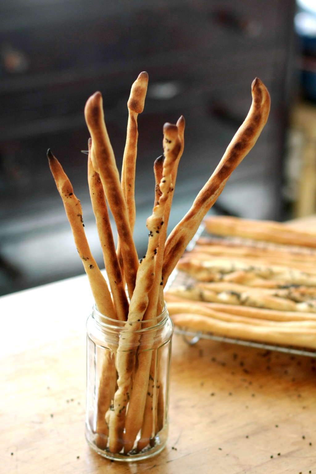 How to Make Italian Grissini Breadsticks