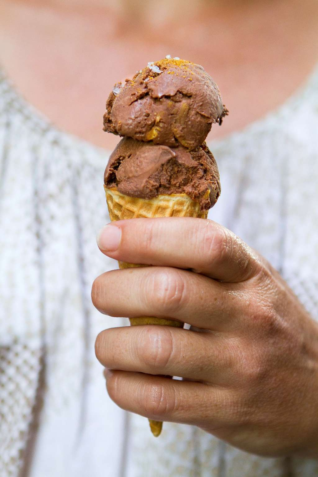 Recipe: Mexican Chocolate and Almond Ice Cream