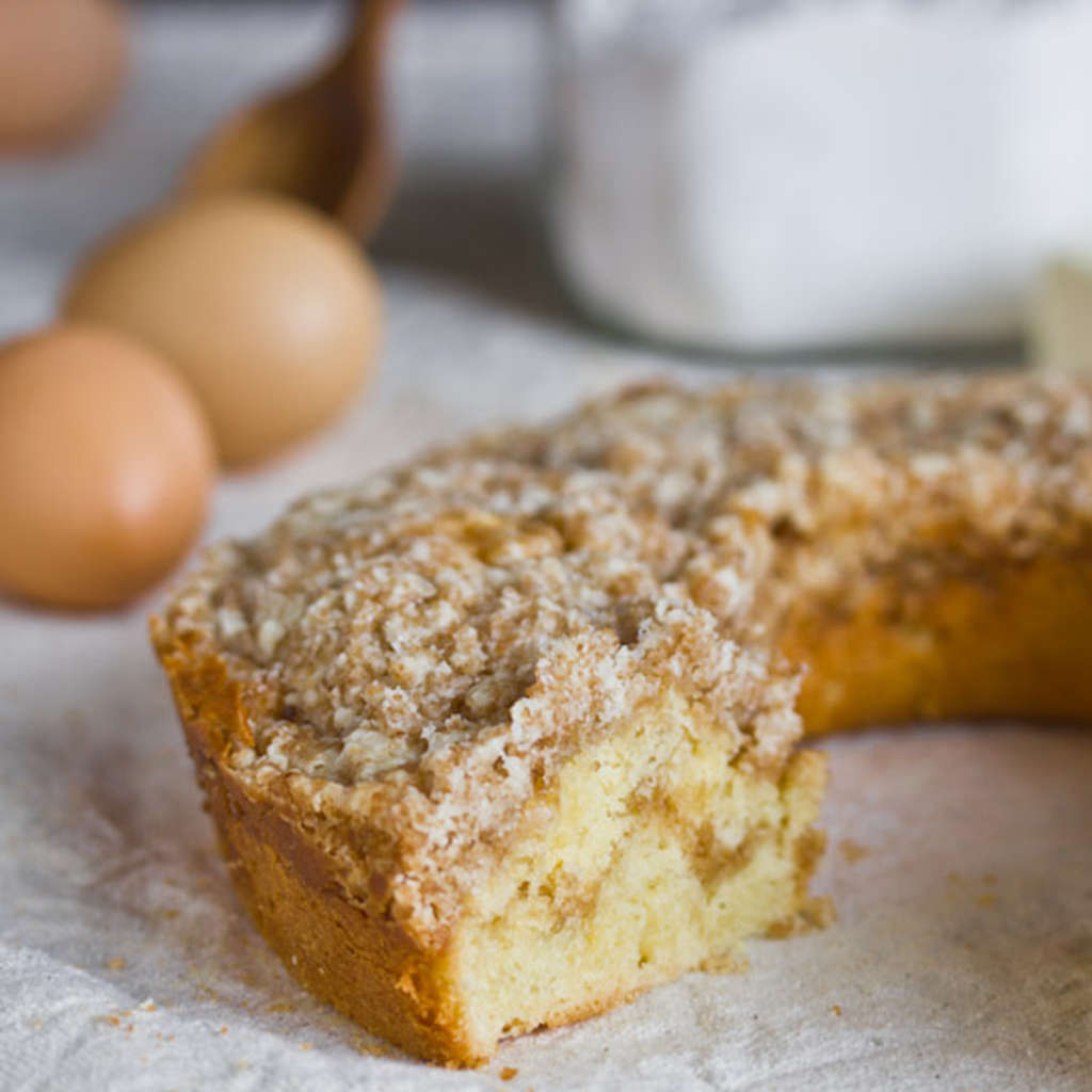 Recipe: Overnight Buttery Streusel Coffee Cake