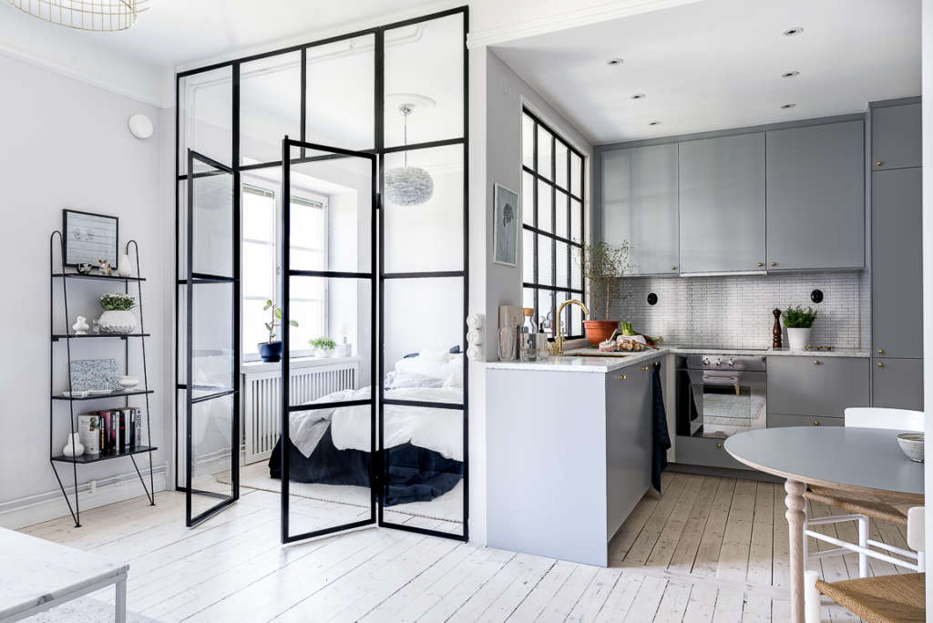 5 Ideas to Steal from This Tiny Stockholm Kitchen