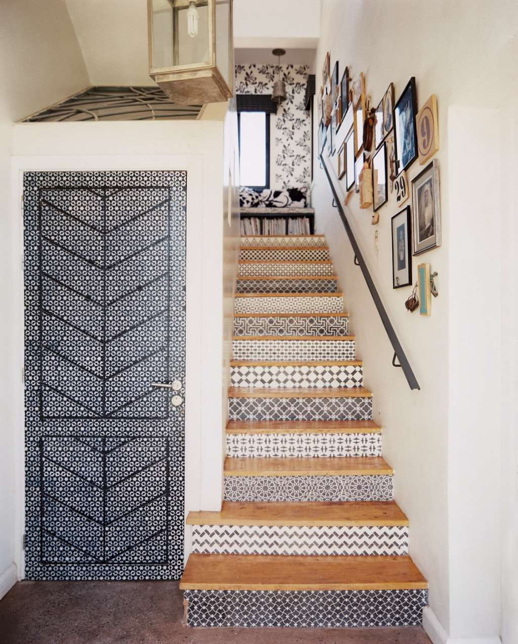 10 Unexpected Places to Sneak in a Patterned Wallpaper