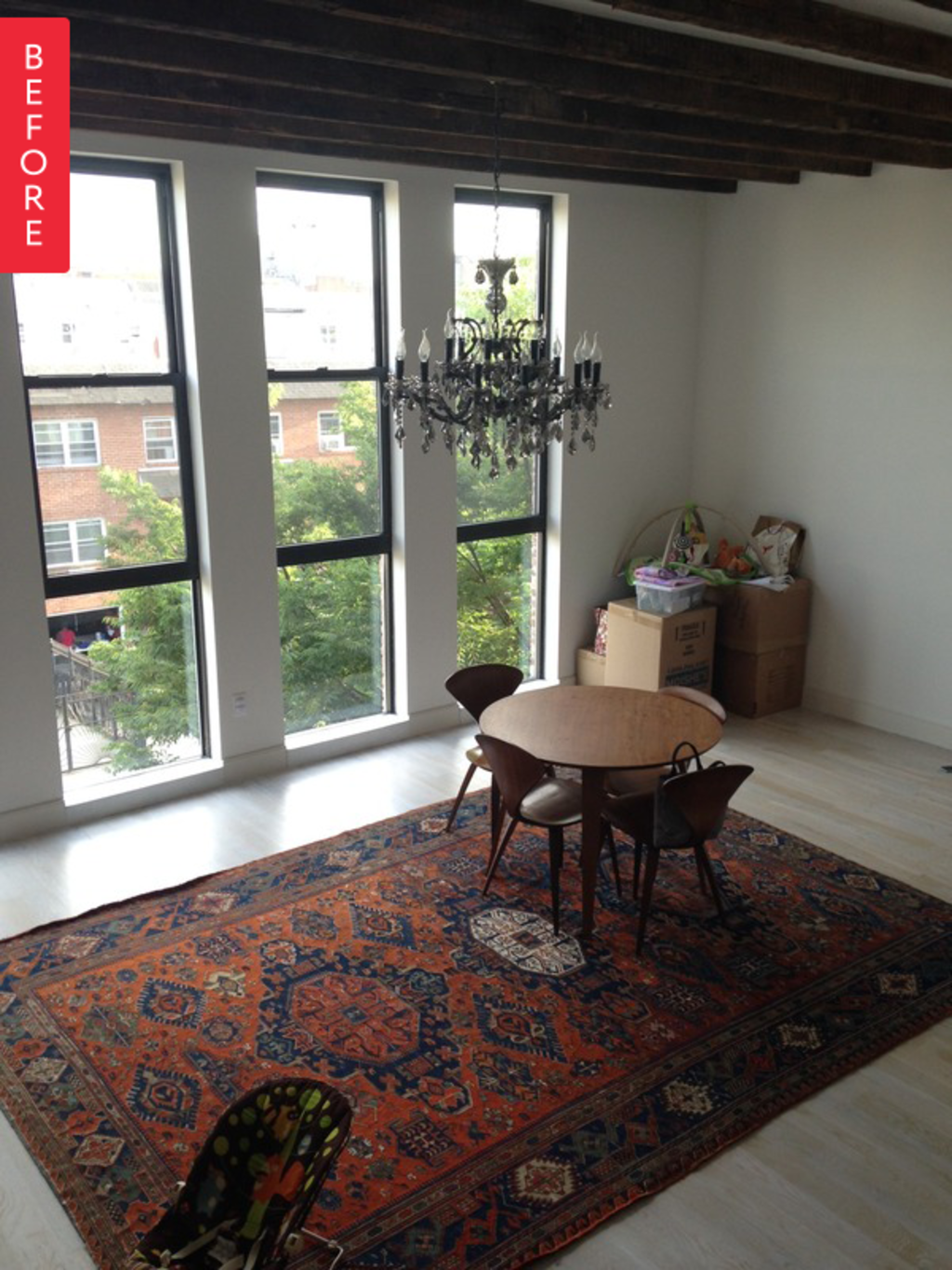 Before & After: A Spacious Living Room Gets an Entirely New Look