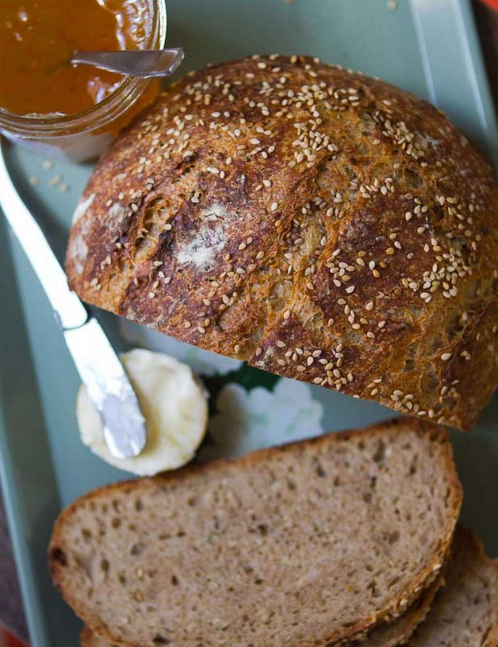 Baking Recipe: Seeded Whole Wheat Overnight Bread