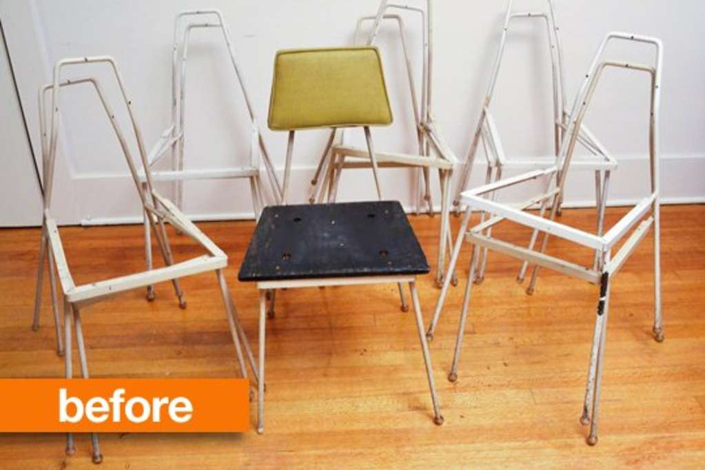Before & After: These Chair Skeletons Bulk Up Beautifully