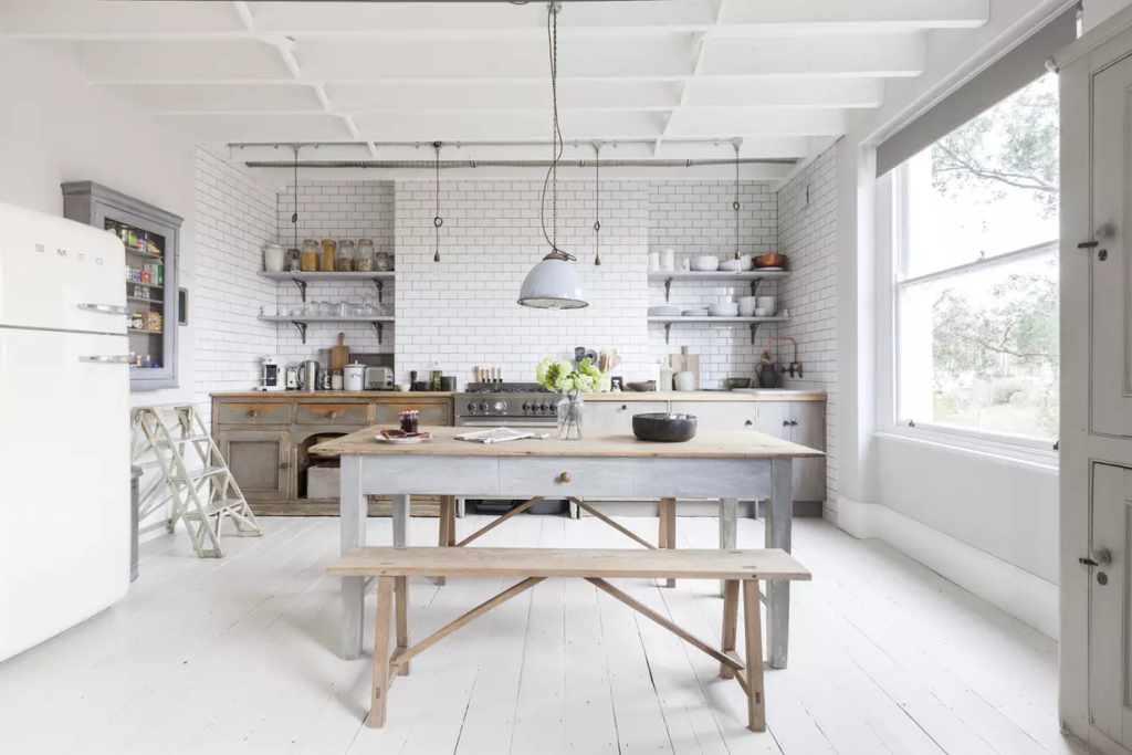 Kitchen design trends today 39 s country kitchen apartment for Cal s country kitchen