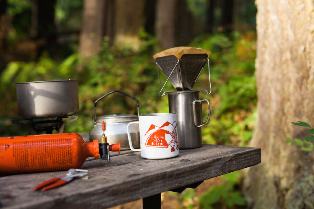 The Secret to Brewing Good Coffee Outside