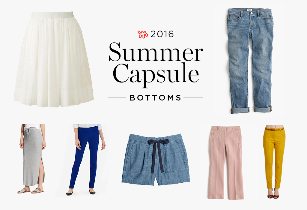 Putting Together a Summer Wardrobe Capsule: 35 Skirts, Shorts & Pants to Buy Now