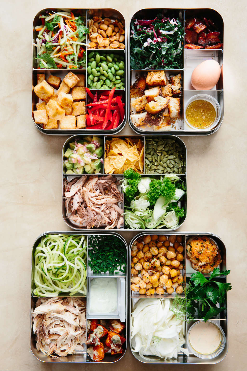 Sunday Night Salads: 5 Recipes to Make Ahead and Eat All Week
