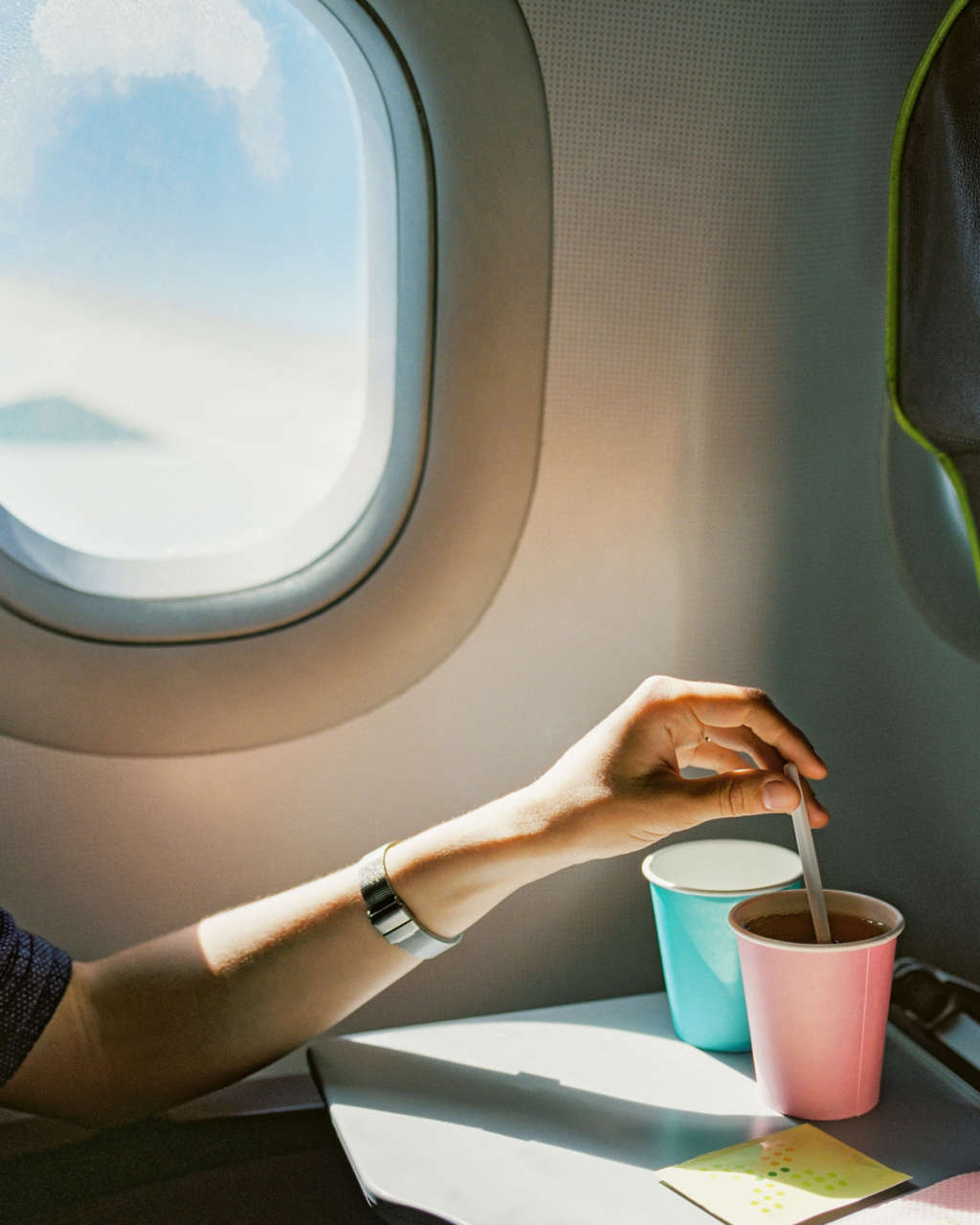 An Easy Trick for Getting First-Class Service in Economy