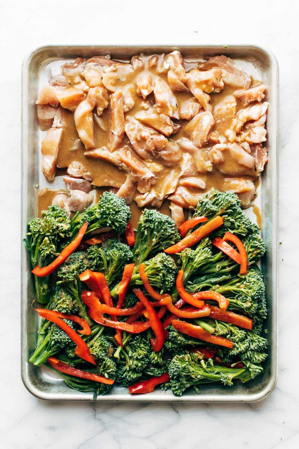 This Sheet Pan Garlic-Ginger Chicken Is a Meal Prep Miracle