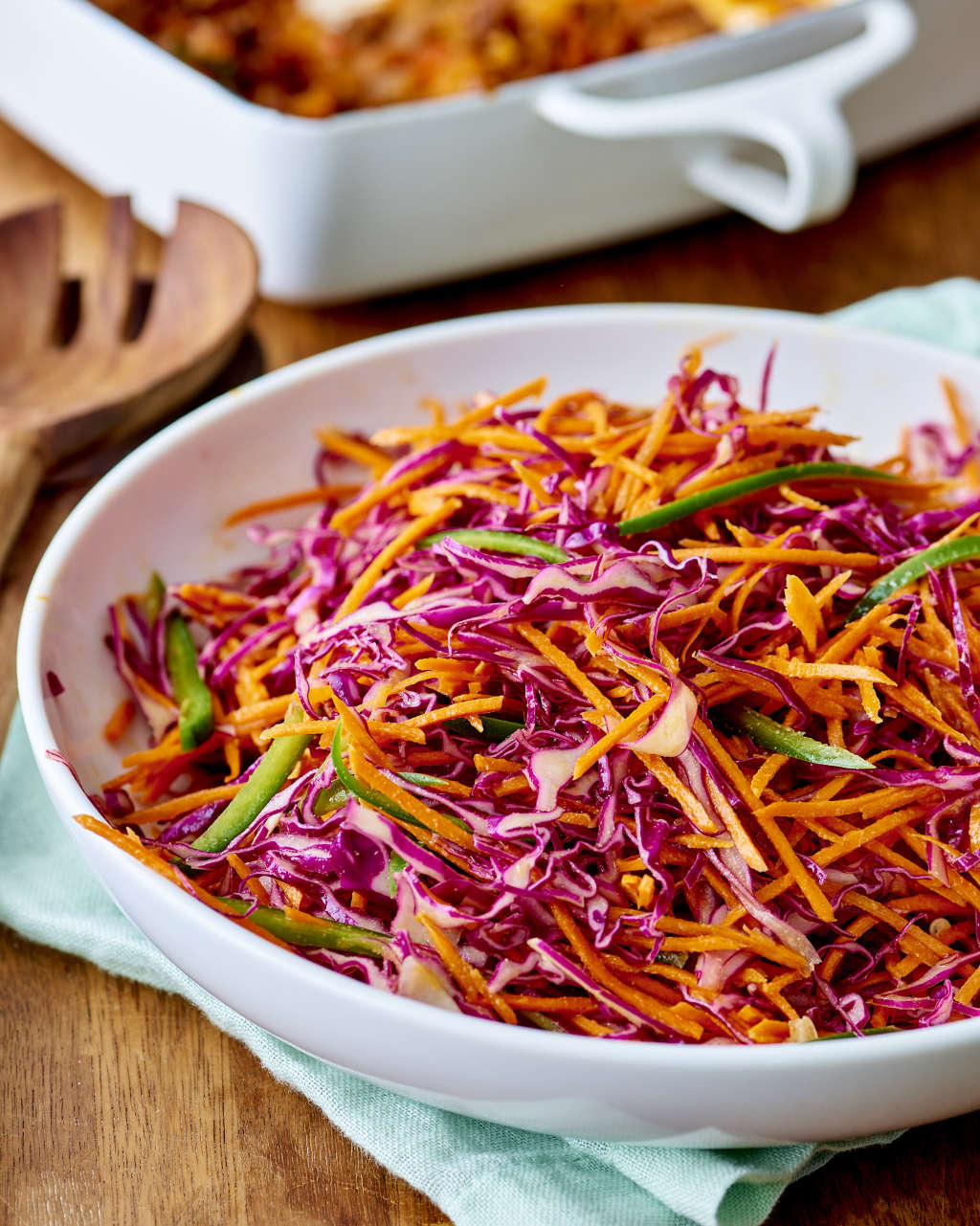 This Tangy Cabbage & Jalapeño Slaw Takes Just 5 Minutes