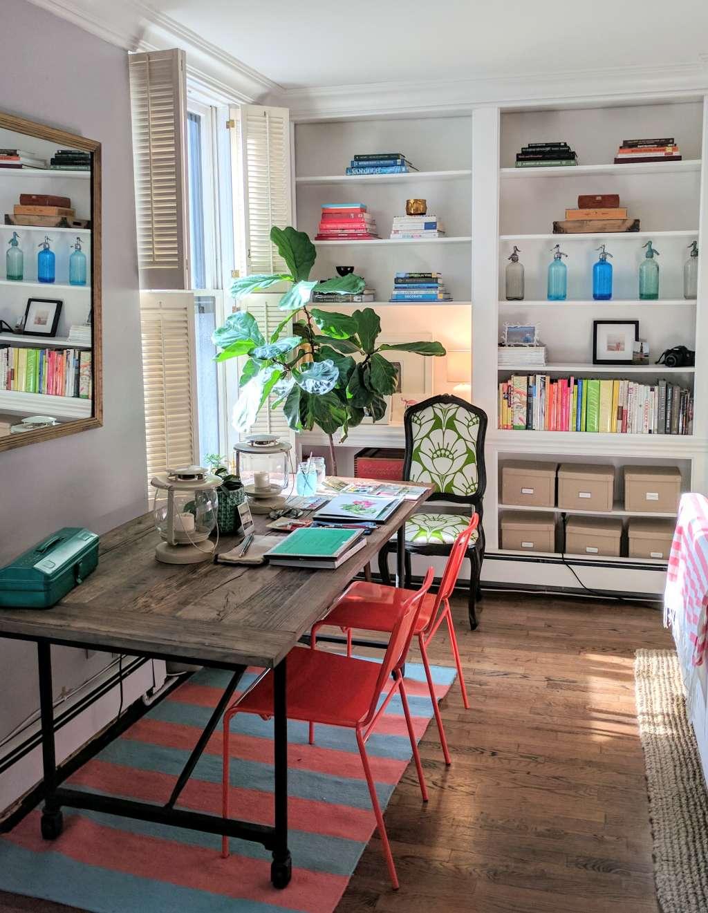 An interior design student 39 s bright brooklyn apartment - Brooklyn apartment interior design ...