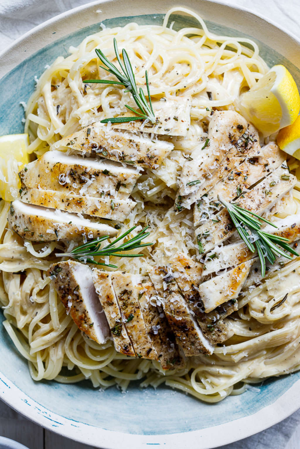 This Creamy Rosemary Chicken Is a Work of Art