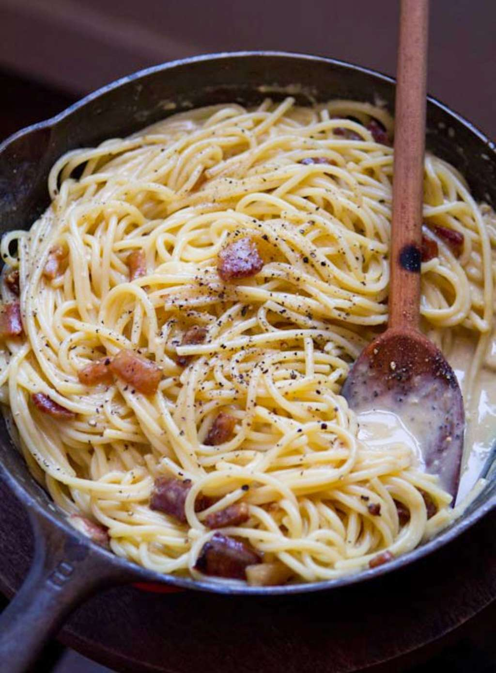 Recipe: Authentic Spaghetti alla Carbonara | Kitchn