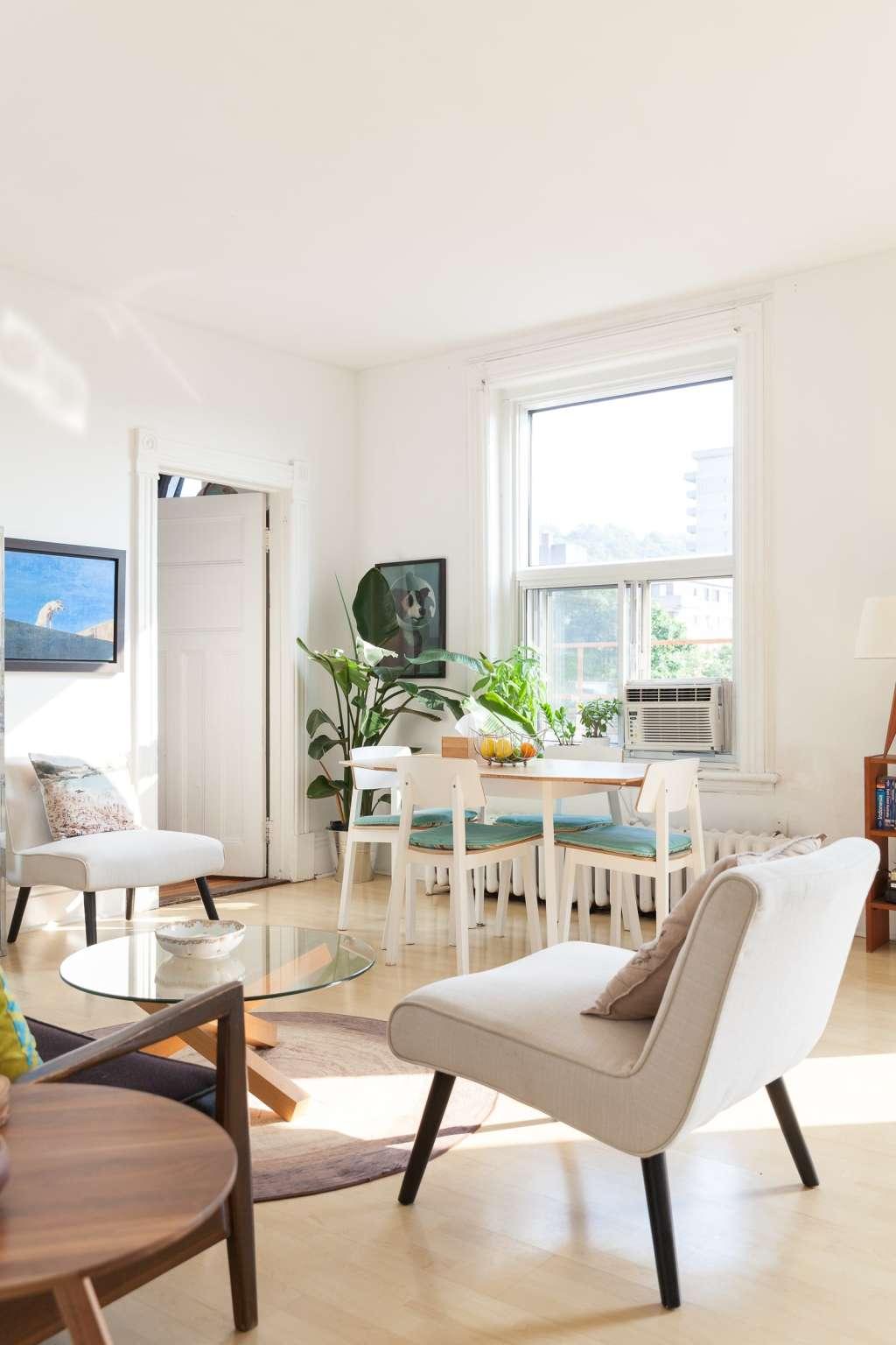 House Tour: Danielle's Bright Top Floor Apartment