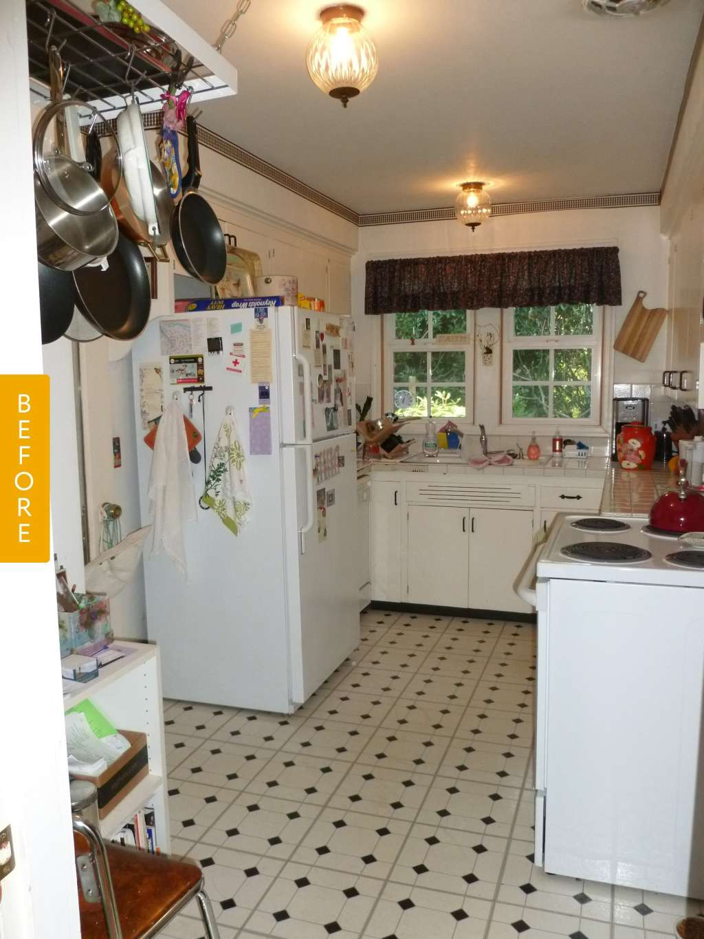Before Amp After A 1940s Kitchen Gets An Era Appropriate