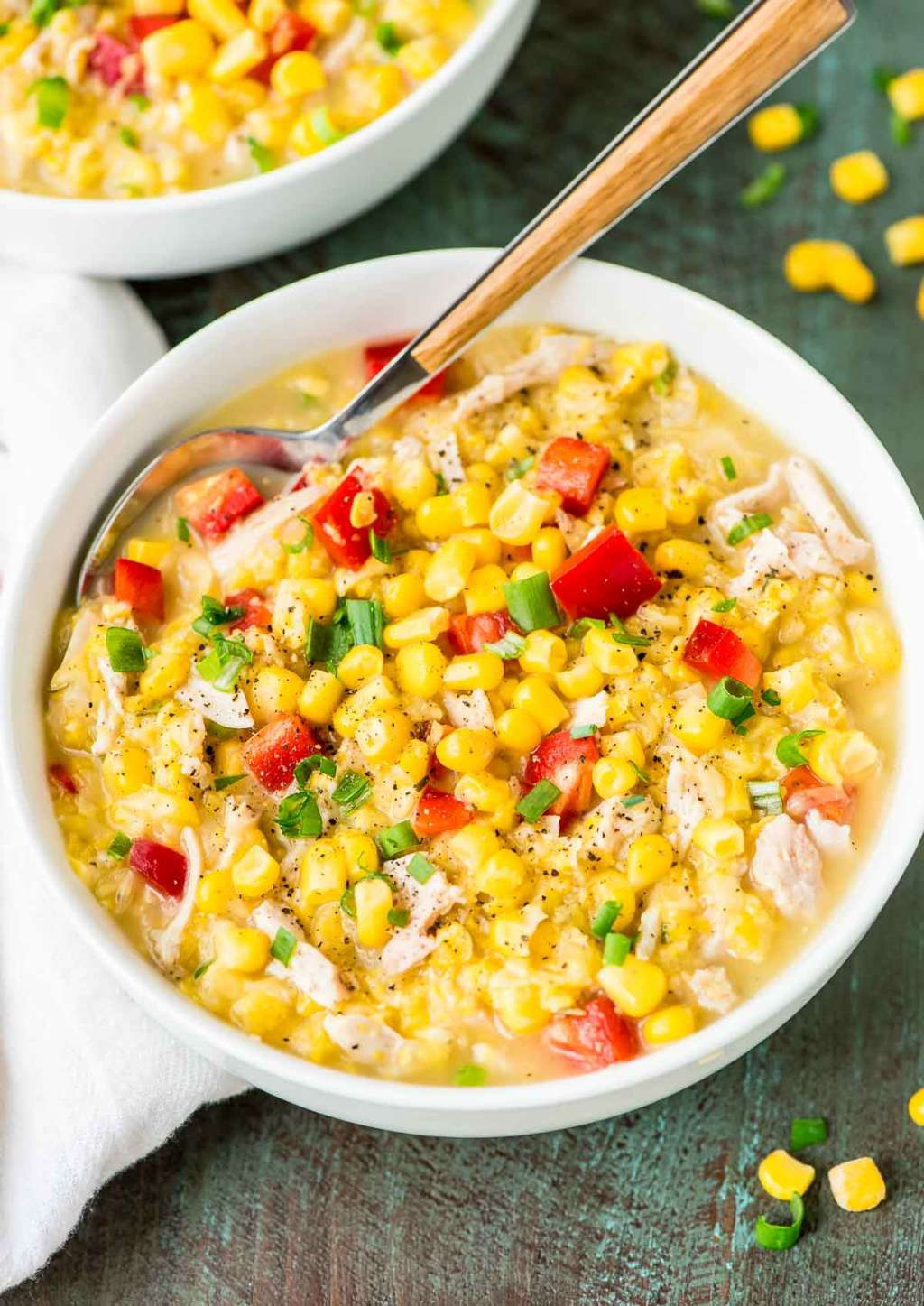 This Slow-Cooker Chicken & Corn Chowder Is the Easy Summer Dinner You've Been Looking For