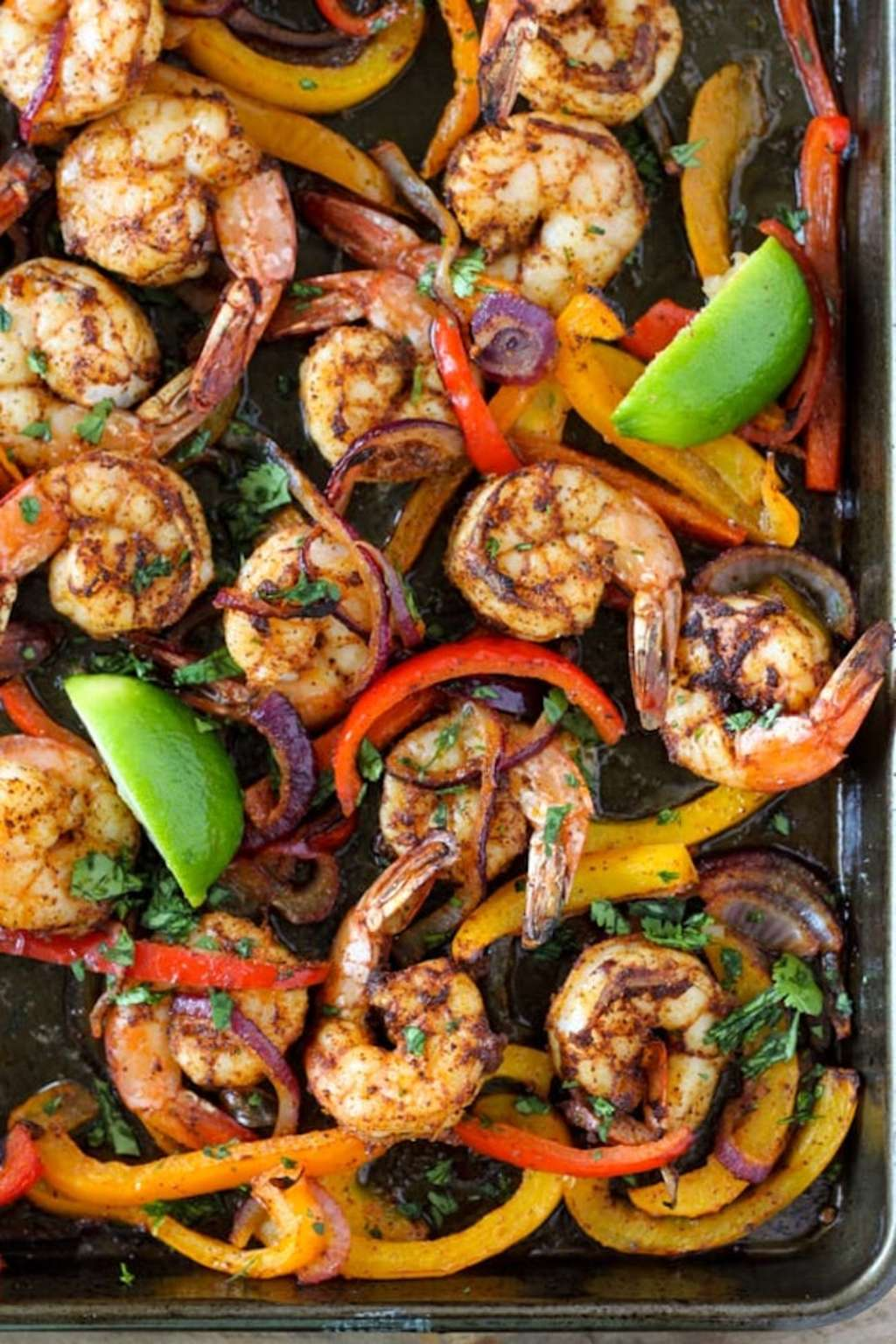 These Sheet Pan Shrimp Fajitas Are a One-Pan Miracle