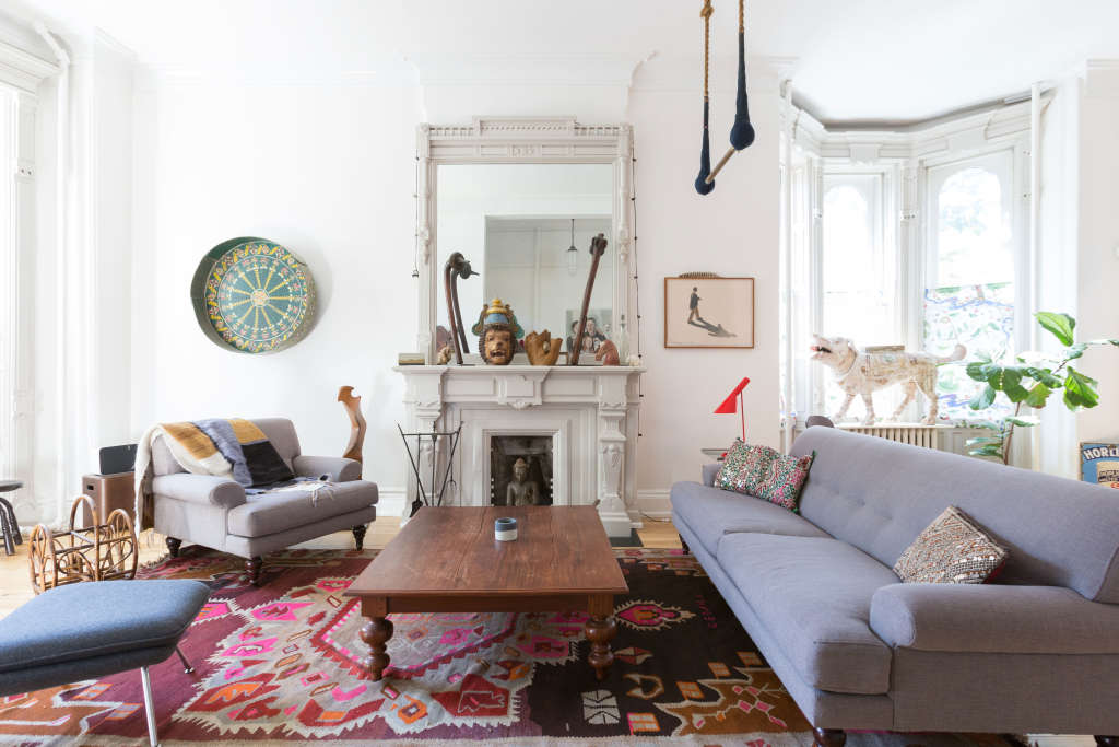 Oeuf Founders' Terrifically Eclectic Brooklyn Home