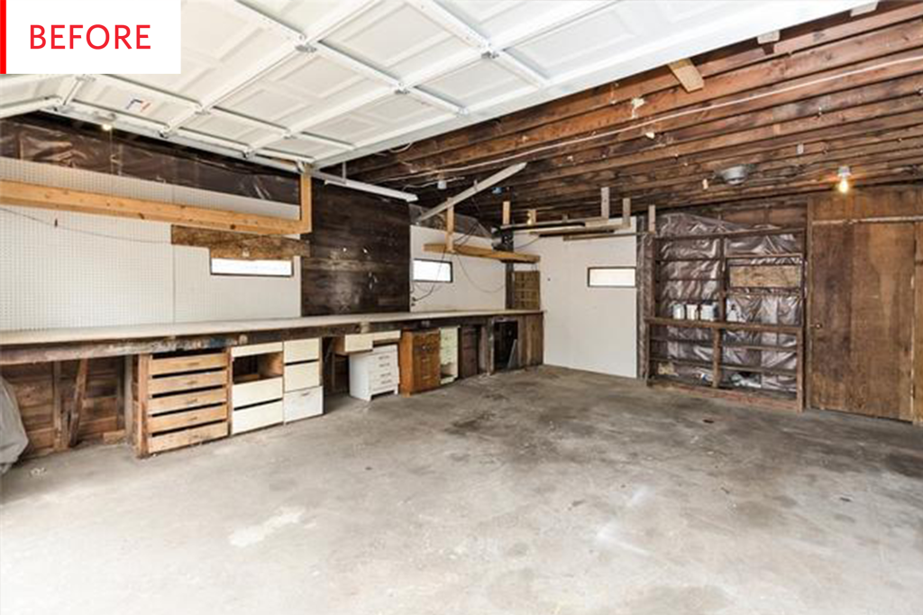 From Neglected Garage to an Enviably Gorgeous Airbnb
