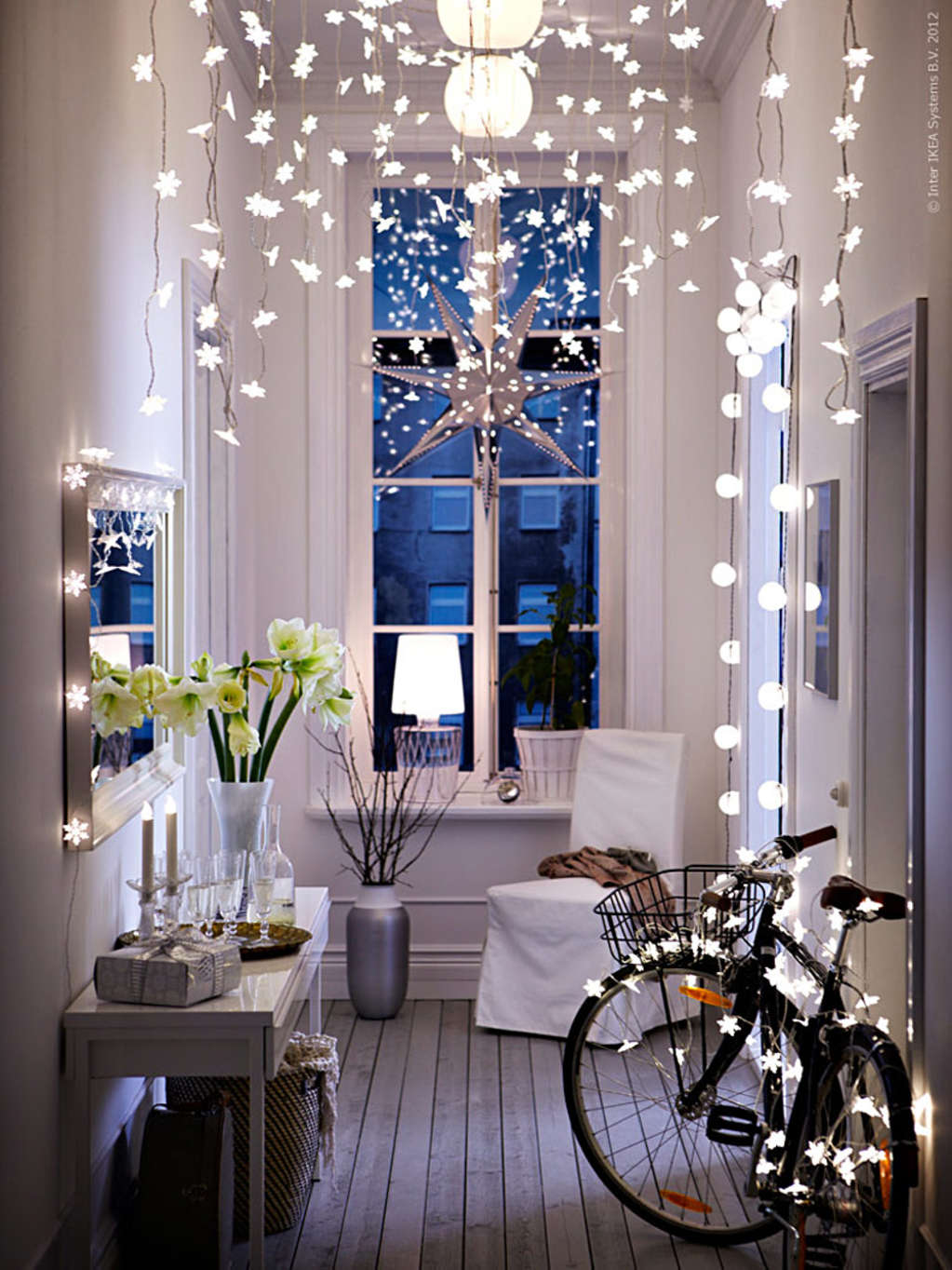 13 Ways to Use String Lights You (Maybe) Haven't Thought of