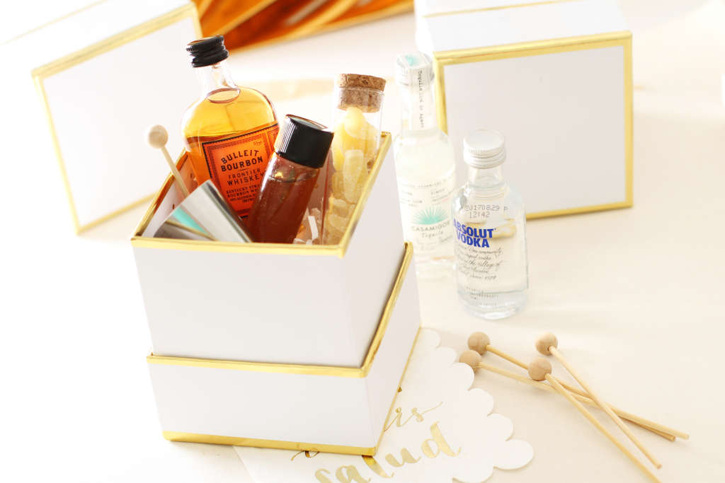 Mini Cocktail (or Mocktail!) Kits For Everyone On Your List