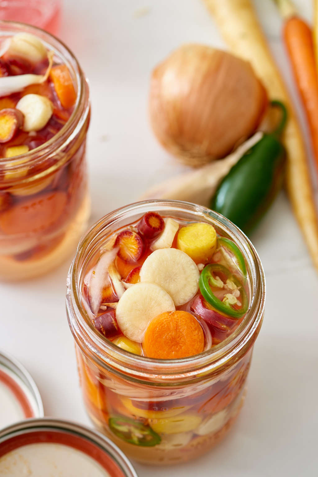 Mexican-Style Pickled Carrots