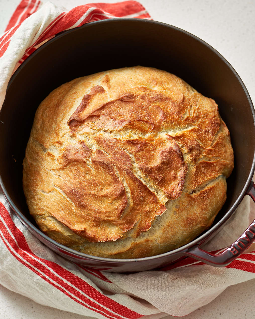 how to make no time bread in the dutch oven kitchn