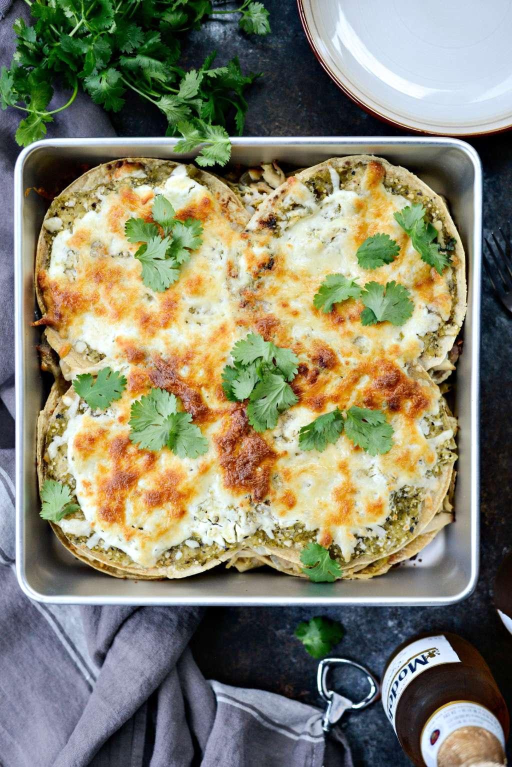 This Easy Chicken Tortilla Casserole Is a Weeknight Wonder