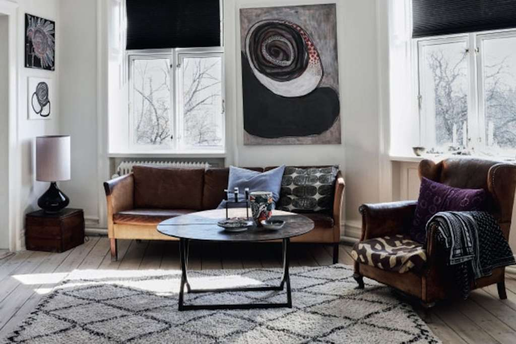 A Big Gallery of Beautiful Scandinavian Style Living Rooms