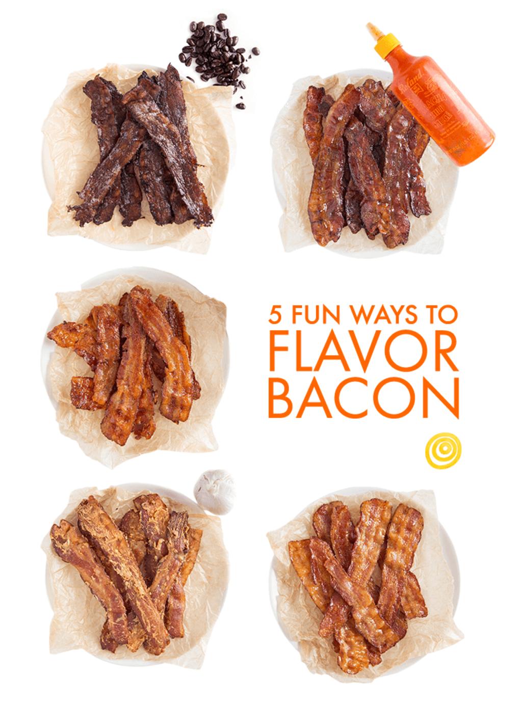 5 Fun Ways to Flavor Bacon