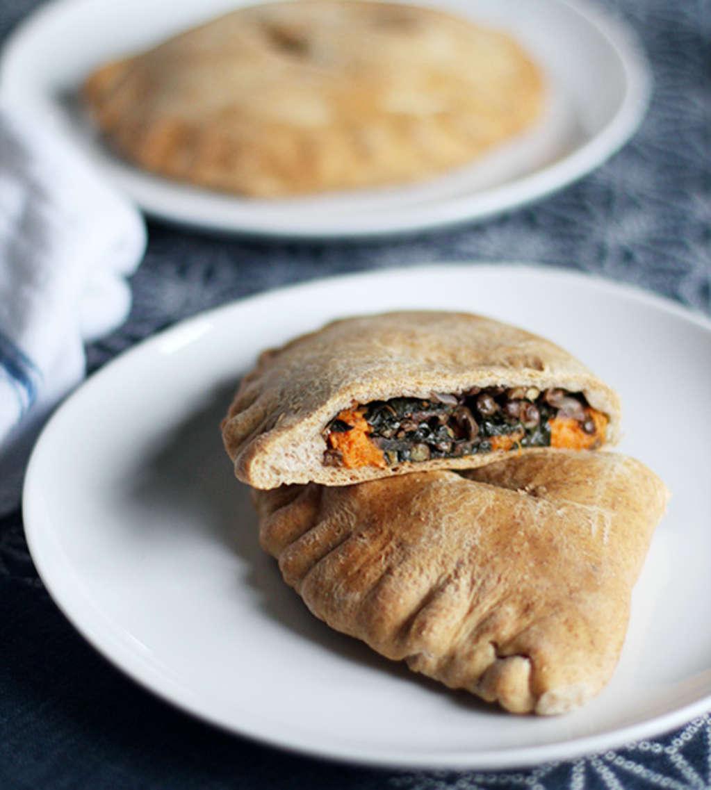 Recipe: Spiced Lentil, Sweet Potato & Kale Whole Wheat Pockets