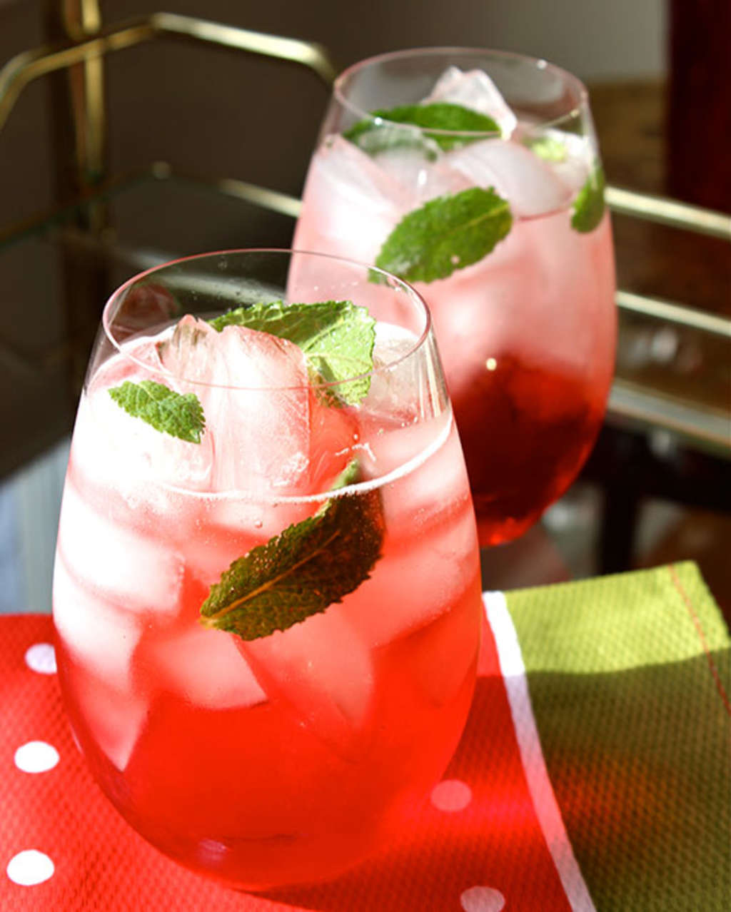 Perfect Holiday Cocktail Recipe: The Campari Mint Spritz