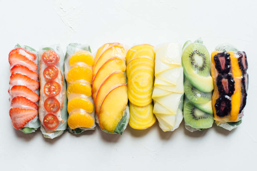 8 Colorful Ways to Fill a Summer Roll